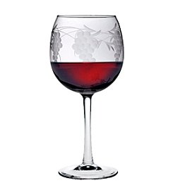 Susquehanna Glass Sonoma Collection Set of 4 Balloon Red Wine Glasses