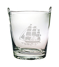 Susquehanna Glass Tall Ship Ice Bucket