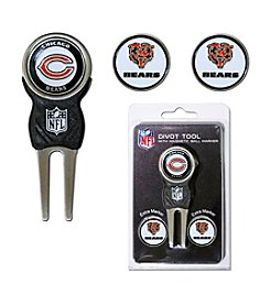 Chicago Bears Blue/Orange 3 Marker Signature Divot Tool Pack
