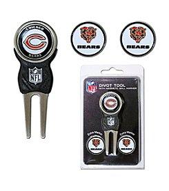Chicago Bears Blue/Orange 3 Marker Signature Divot Tool Pack