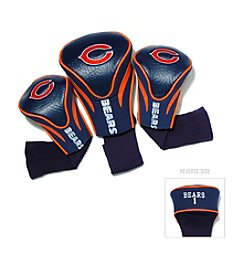 Chicago Bears Blue/Orange 3 Pack Contour Headcover