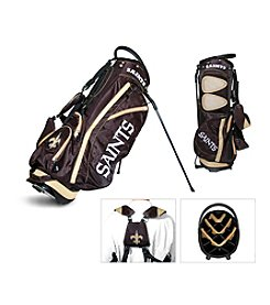 New Orleans Saints Black/Gold Fairway Stand Bag