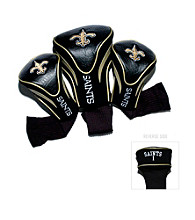 New Orleans Saints Black/Gold 3 Pack Contour Headcover
