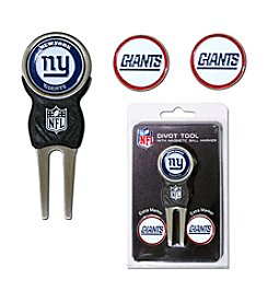 New York Giants Blue/Red 3 Marker Signature Divot Tool Pack