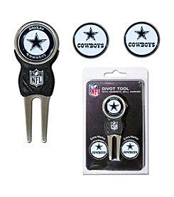 Dallas Cowboys Blue/Silver 3 Marker Signature Divot Tool Pack