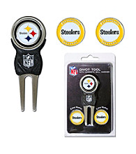 Pittsburgh Steelers Black/Yellow 3 Marker Signature Divot Tool Pack