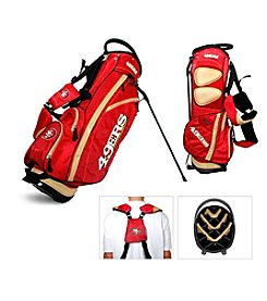 San Francisco 49ers Red/Gold Fairway Stand Bag