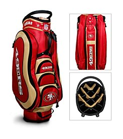 San Francisco 49ers Red/Gold Medalist Cart Bag