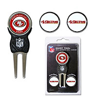 San Francisco 49ers Red/Gold 3 Marker Signature Divot Tool Pack