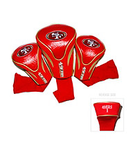 San Francisco 49ers Red/Gold 3 Pack Contour Headcover