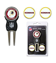 Washington Redskins Red/Gold 3 Marker Signature Divot Tool Pack