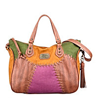 Nine West Vintage America Collection® Saddle/Cognac Sun Goddess Medium Slouchy Satchel