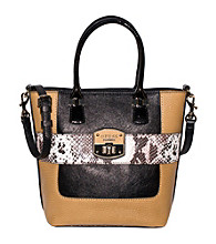 Guess Black Multi Bellville Small Carryall