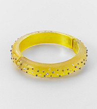 Studio Works® Yellow Hinged Bangle