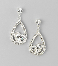 BT-Jeweled Crystal Earrings