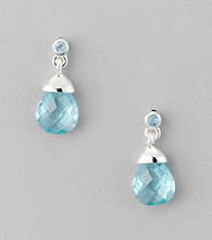 BT-Jeweled Aqua Earrings