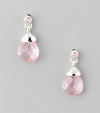 BT-Jeweled Pink Earrings