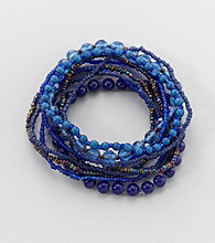 Studio Works® Cobalt Stretch Bracelet
