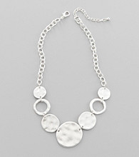 Studio Works® Silvertone Chain Necklace