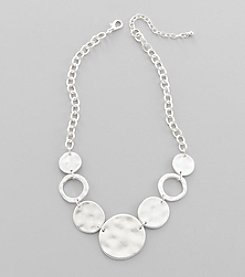 Studio Works® Silvertone Chain Necklace