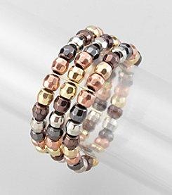 Studio Works® Goldtone Stretch Bracelet