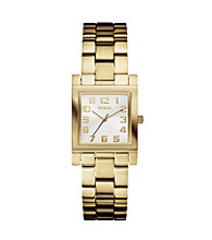 Guess Enduring Chic Goldtone Analog Watch