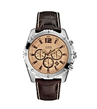 Guess Brown On The Move Bold Sport Watch