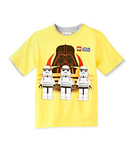 LEGO® Boys' 8-20 Yellow Short Sleeve Star Wars Tee