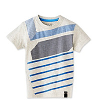 DKNY® Boys' 4-20 Grey Oat Short Sleeve Orion Tee