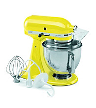 Closeout! KitchenAid® Artisan® 5-qt. Sunshine Yellow Stand Mixer + Free Food Grinder Attachment