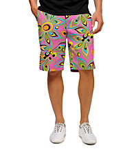 Loudmouth® Men's Shagadelic Pink Golf Short