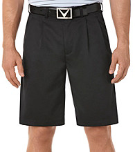 Callaway® Men's Anthracite 2-Pleat Pebble Dress Short