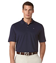 Callaway® Men's Peacoat Razor Solid Polo