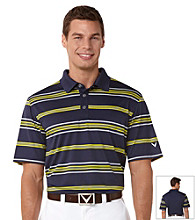 Callaway® Men's Peacoat Roadmap Striped Polo