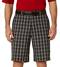 PGA TOUR® Men's Caviar 3 Color Plaid Short