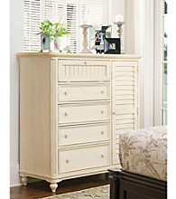 Paula Deen® Magnolia Linen Finish Door Chest