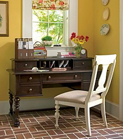 Universal Furniture® Tobacco Finish Letter Writing Desk