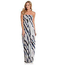 DKNY JEANS® Strapless Maxi Dress