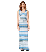 Calvin Klein Jeans® Striped Maxi Dress