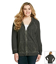 Ruff Hewn Plus Lace Front Cold Process Hoodie