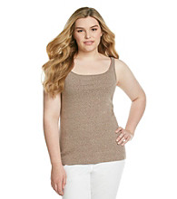 Ruff Hewn Plus Size Heather Nep Cami