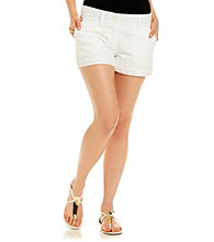 Sequin Hearts® Juniors' Eyelet Cuffed Short
