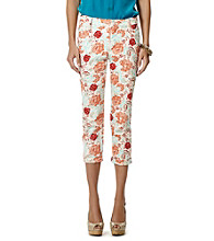 Jones New York Signature® Chelsea Floral Cuffed Capris