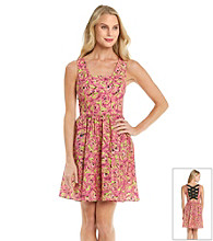 Betsey Johnson® Floral Print Dress