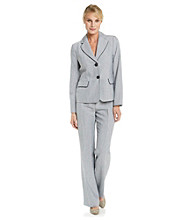 Le Suit® Piped Collar Jacket with Pant
