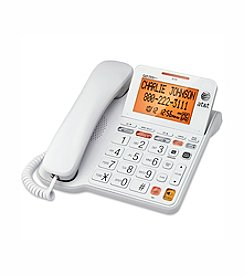 AT&T® Corded Phone with Answering System and Large Tilt Display