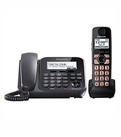 Panasonic® Dect 6.0 1-Handset, 1-Line Landline Phone and Answering System