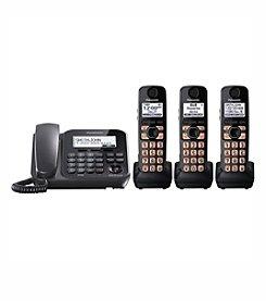 Panasonic® Dect 6.0 3-Handset, 1-Line Landline Phone and Answering System