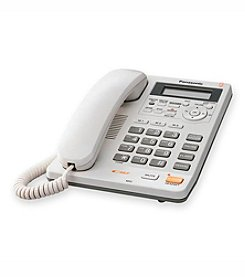 Panasonic® Corded Phone with Digital Answering System