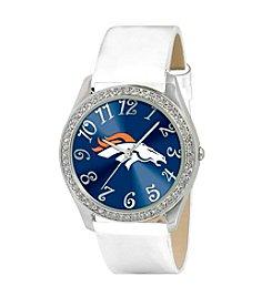 Game Time Denver Broncos Glitz White Watch